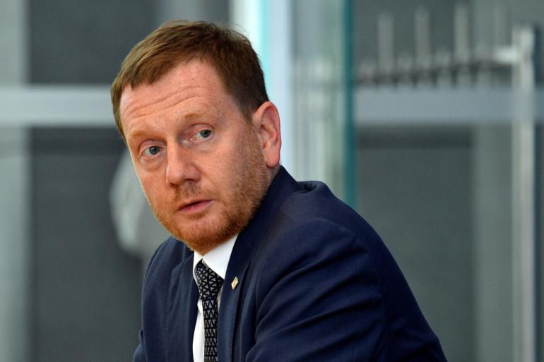 Le ministre-président de la Saxe, Michael Kretschmer, le 3 juillet 2020.