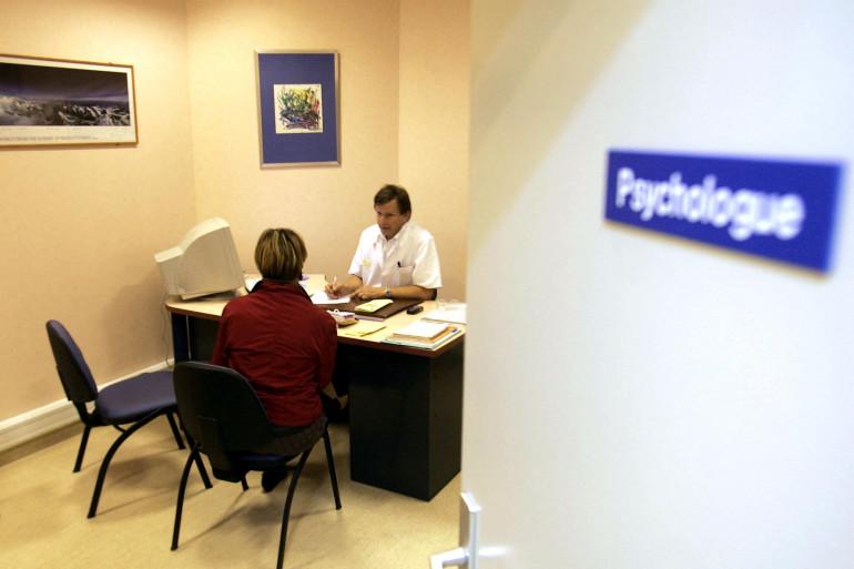 Une consultation de psychologie (illustration)