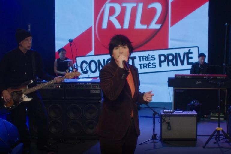 """Texas lors de son """"concert très très privé"""" pour RTL2 le 23 avril 2021"""