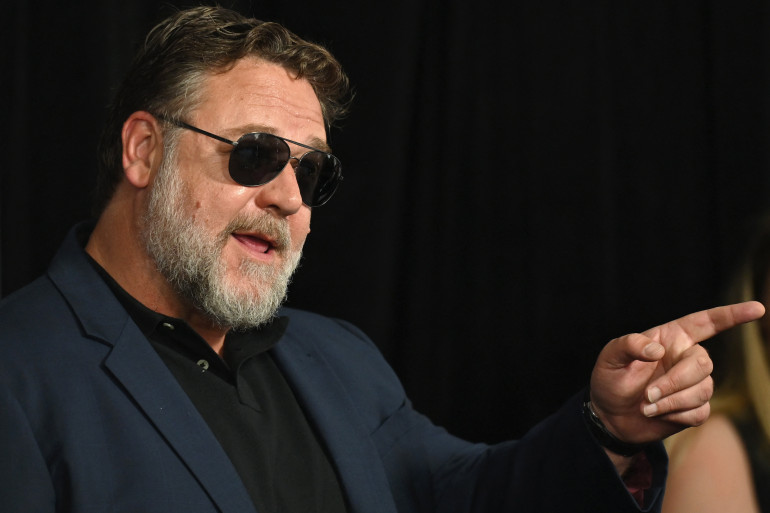 Russell Crowe en 2019 à New York