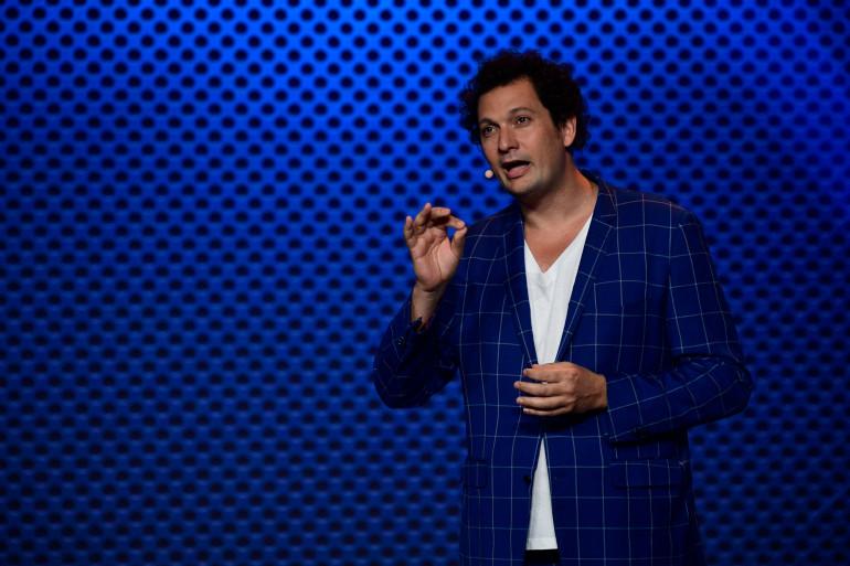 Le magicien-humoriste Éric Antoine le 5 septembre 2017.