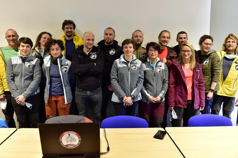 14 volontaires ont passé 40 jours dans une grotte de l'Ariège