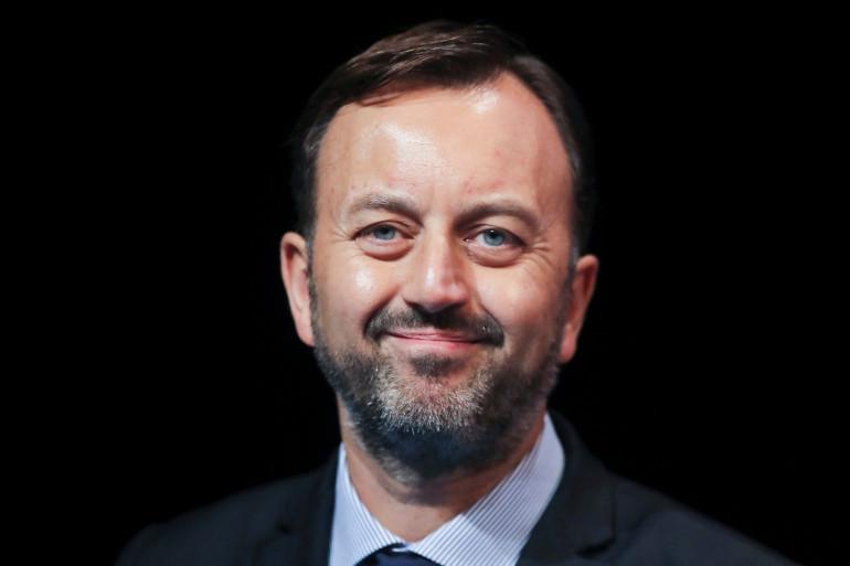 François Decoster, le maire de Saint-Omer dans le Pas-de-Calais