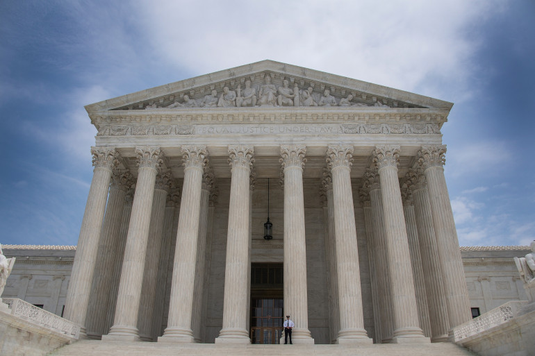 Illustration de la Cour suprême américaine