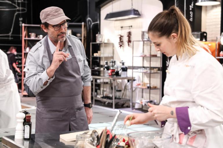 """Paul Pairet et Sarah Mainguy dans la saison 12 de """"Top Chef"""""""