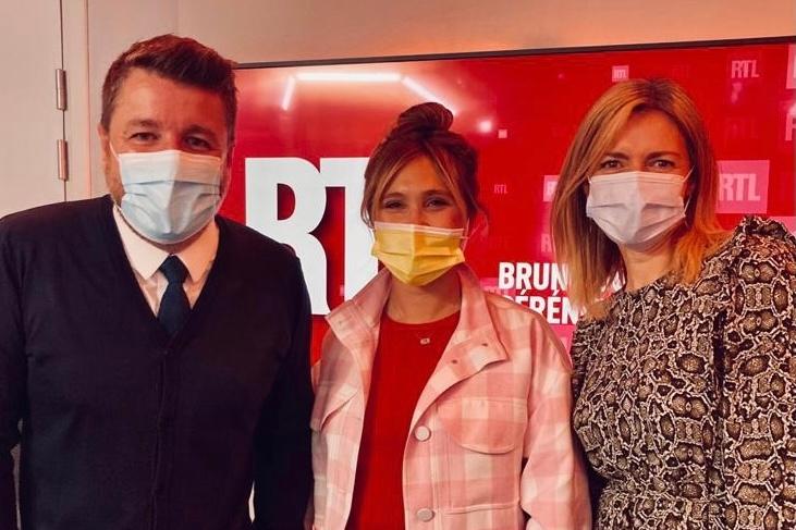 """Bérangère Krief dans l'émission """"Tout à Gagner"""" - Bruno Guillon Bérénice Bourgueil"""