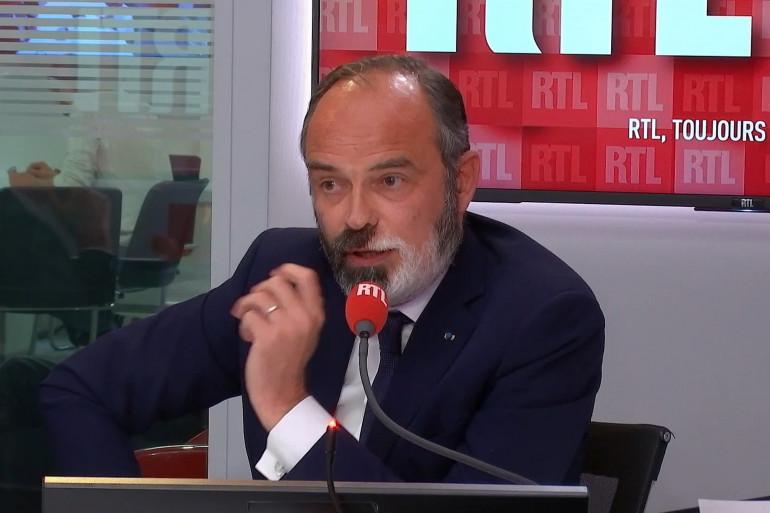 Édouard Philippe était l'invité de RTL Soir.