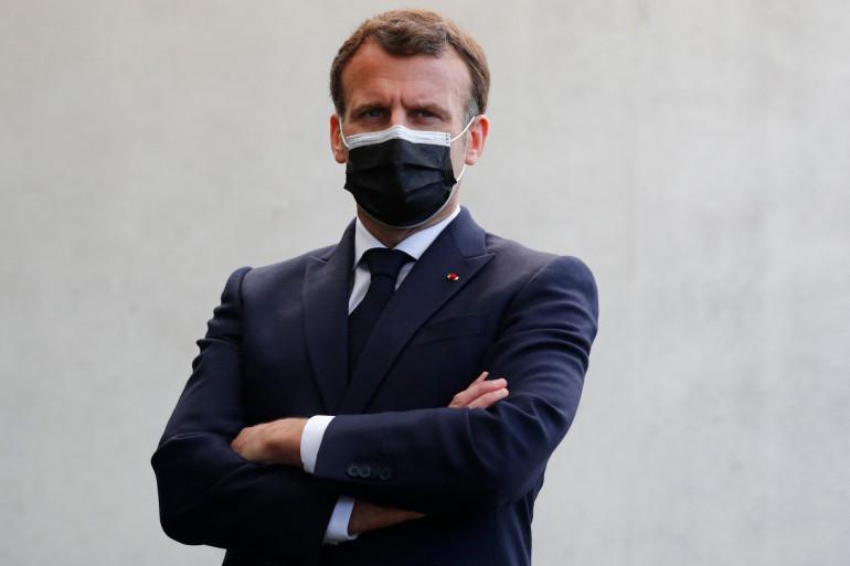 Emmanuel Macron, le 19 avril 2021
