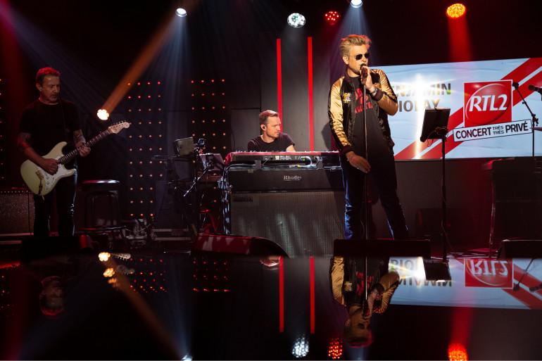 Benjamin Biolay de son Concert très très privé RTL2, le 30 avril 2021