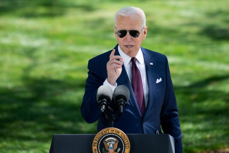 Joe Biden à la Maison Blanche le 27 avril 2021