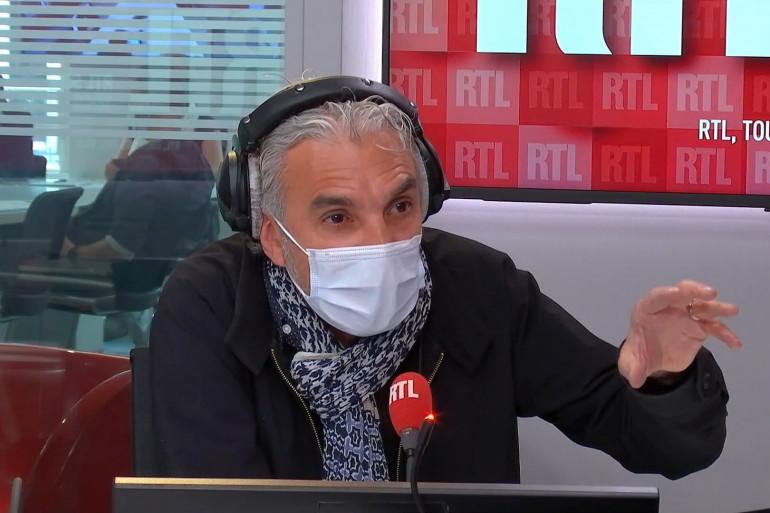 Laurent Jaoui, dans RTL Soir, le 30 avril 2021