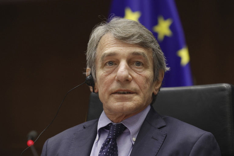 David Sassoli, président du Parlement européen, est interdit d'entrer sur le territoire russe