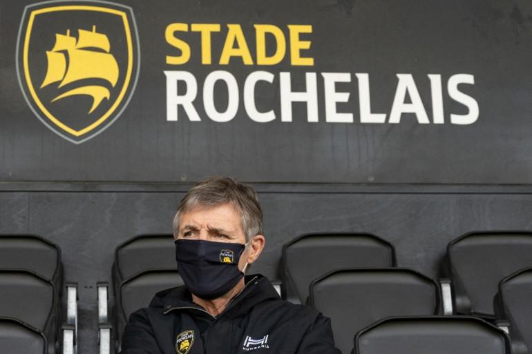 Vincent Merling, le président du Stade Rochelais le 20 février 2021 au stade Marcel Deflandre.