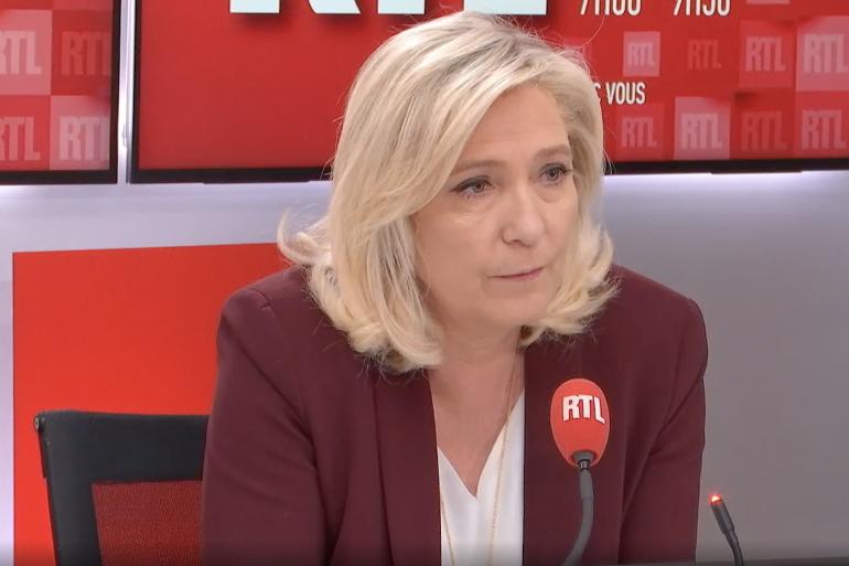 Marine Le Pen invitée de RTL le 4 mai 2021