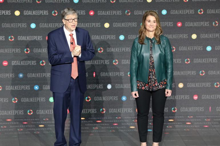 Bill et Melinda Gates, le 26 septembre 2018 à New York