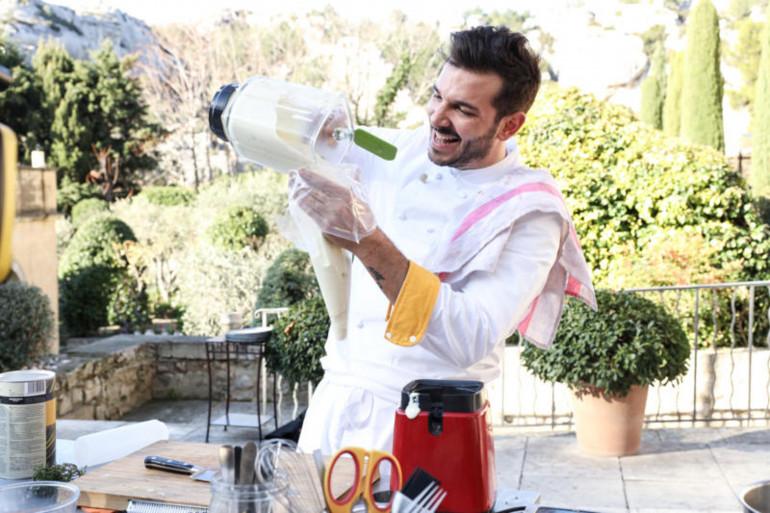 """Pierre, de la brigade de Michel Sarran, dans la saison 12 de """"Top Chef"""""""