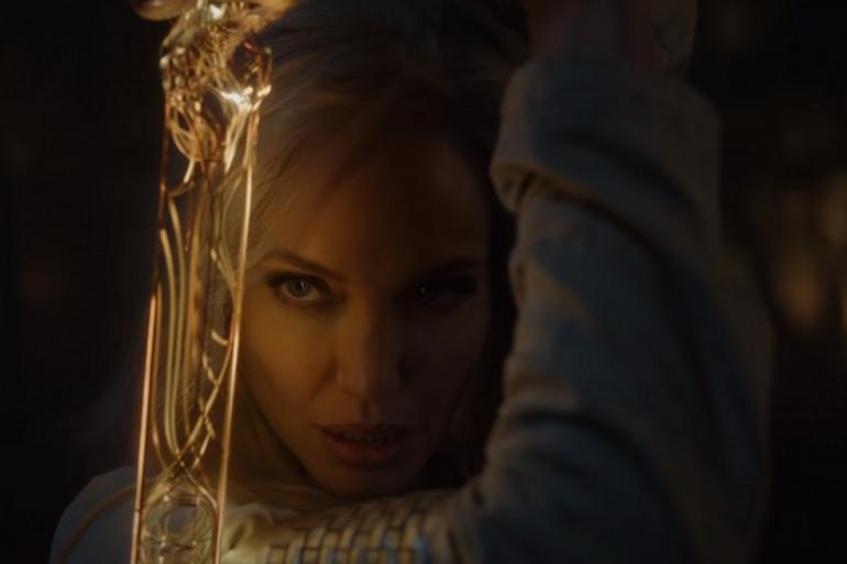 """Angelina Jolie incarne la guerrière Thena dans """"Eternals"""""""