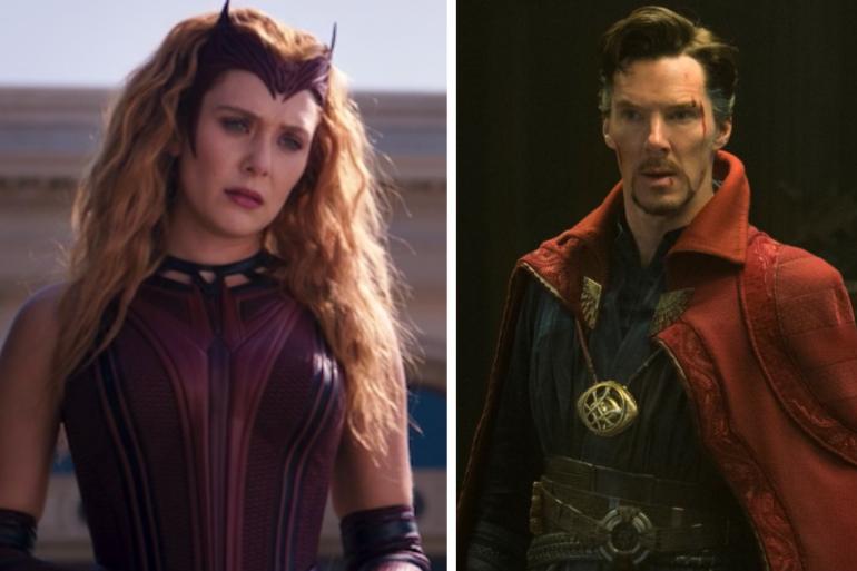 """Wanda et Doctor Strange devait se retrouver dans """"WandaVision"""""""
