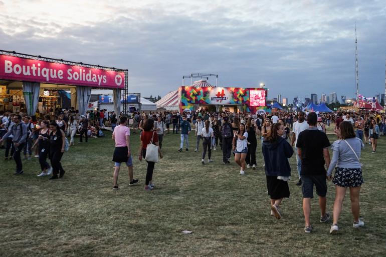 Le festival Solidays en 2019