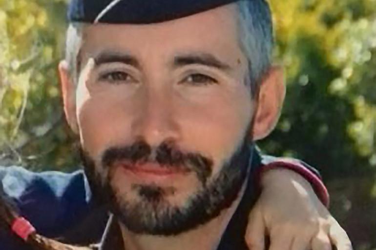 Éric Masson, un policier tué par balles le 5 mai 2021 à Avignon.