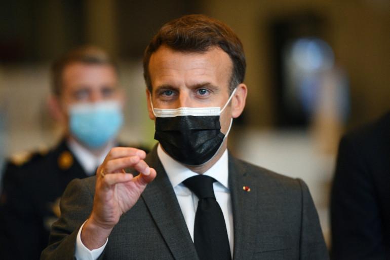 Emmanuel Macron, le 6 mai 2021
