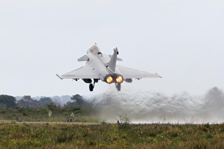La base aérienne de Solenzara, en Corse