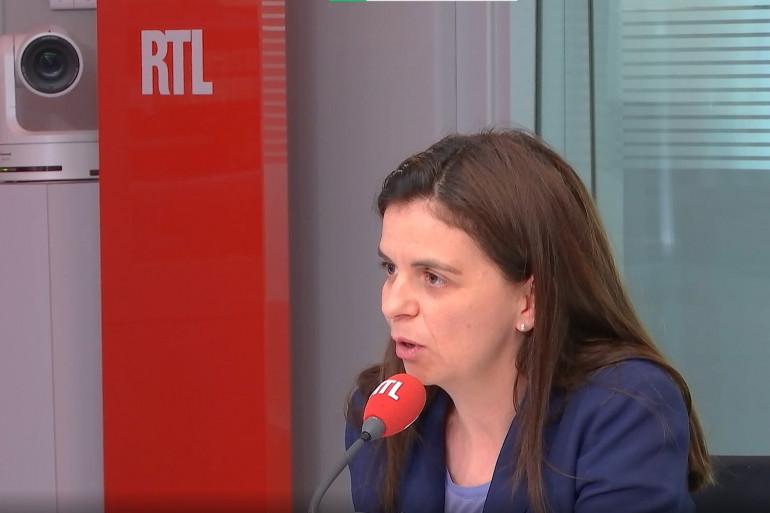 Céline Piques, porte-parole d'Osez le féminisme, invitée sur RTL