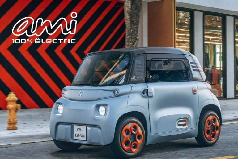 """""""AMI"""", la nouvelle voiture sans permis 100% électrique de Citroën"""