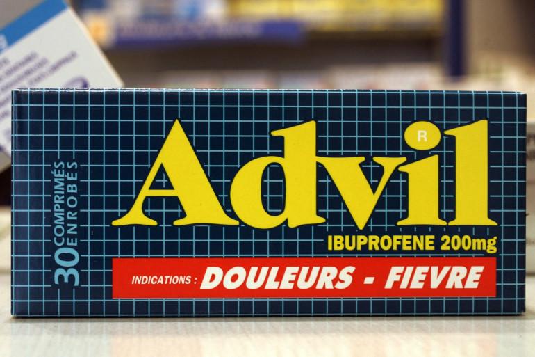 Photo d'une boîte d'Advil prise le 10 juin 2005 à Paris. (Illustration)