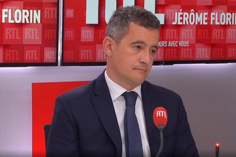 Gérald Darmanin au micro de RTL le 11 mai 2021