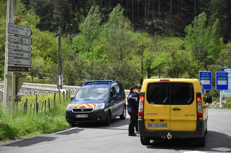 Une patrouille de gendarmerie, aux Plantiers, le 11 mai 2021