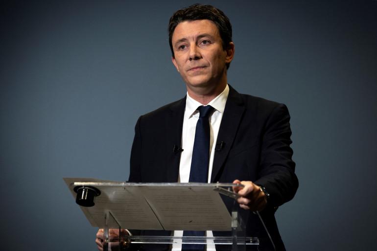 Photo de Benjamin Griveaux le 14 février 2020 à Paris.