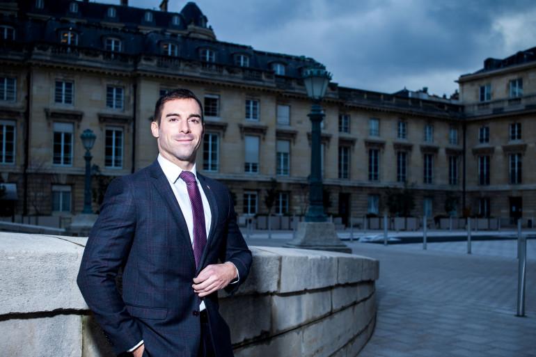 Julien Odoul, conseiller régional de Bourgogne-Franche-Comté.