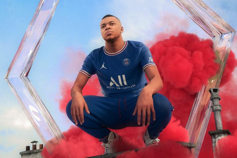 Le maillot 2021-2022 du PSG.