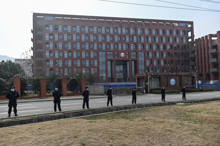 L'Institut de virologie de Wuhan, visité par des experts de l'Organisation mondiale de la Santé, le 3 février 2021.