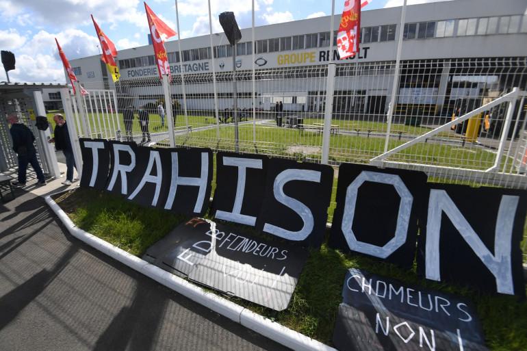 Une grève est en cours depuis trois semaines à la Fonderie de Bretagne