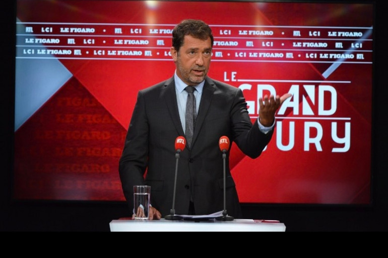 Christophe Castaner dans Le Grand Jury, le dimanche 16 mai 2021