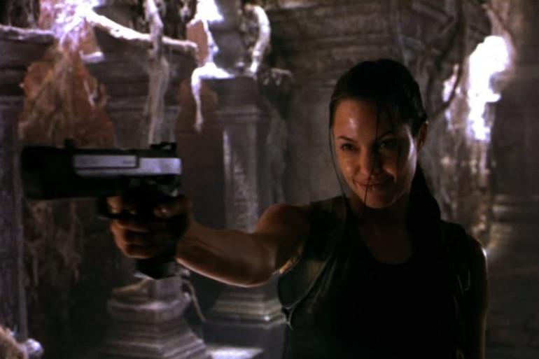 """Angelina Jolie a joué dans """"Tomb Raider"""" en 2001 et 2003"""