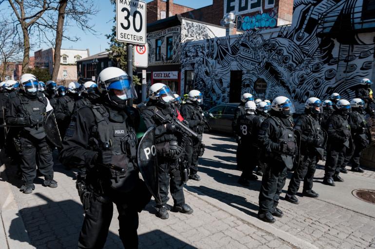 La police de Montréal (illustration).