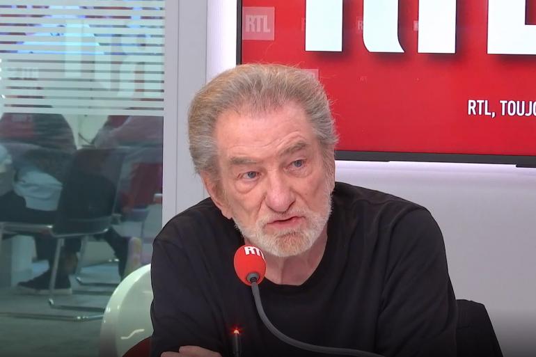 Eddy Mitchell sur RTL le 17 mai 2021