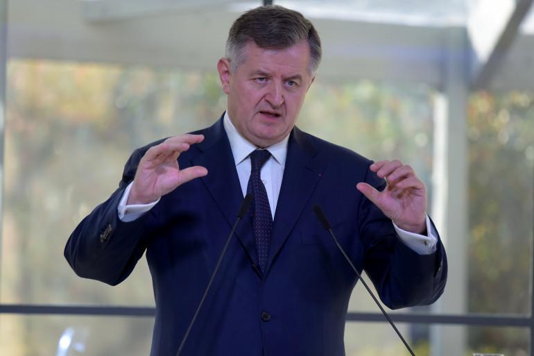 Le président-directeur du groupe Aéroports de Paris (ADP) Augustin de Romanet