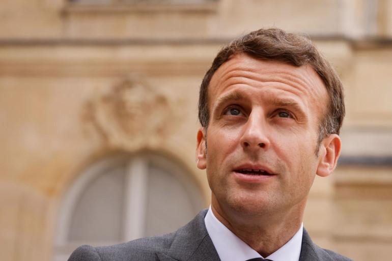 Emmanuel Macron, le 12 mai 2021