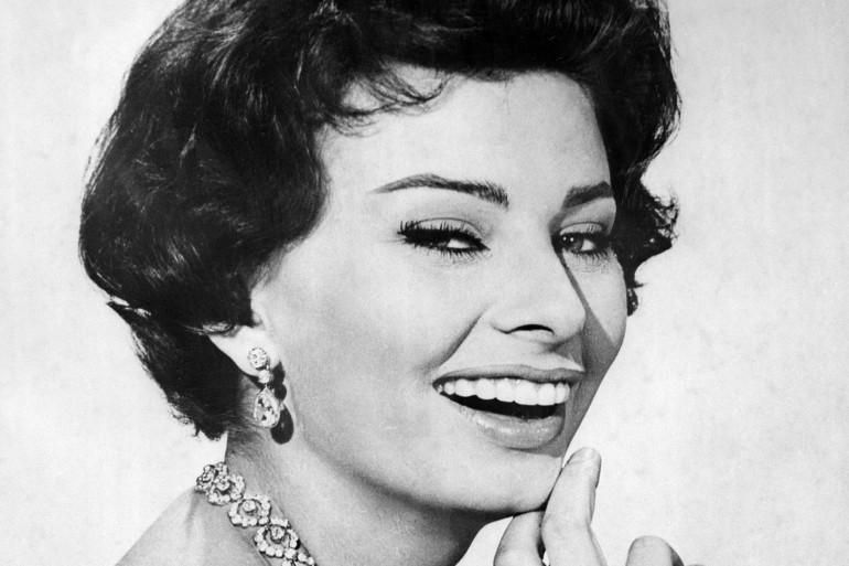 Sophia Loren dans les années 60
