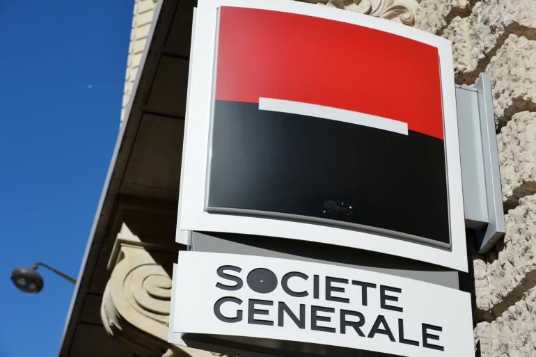 Le logo de la Société Générale (illustration)