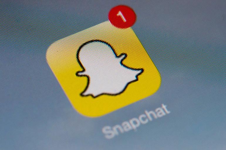 L'application Snapchat, très prisée des jeunes
