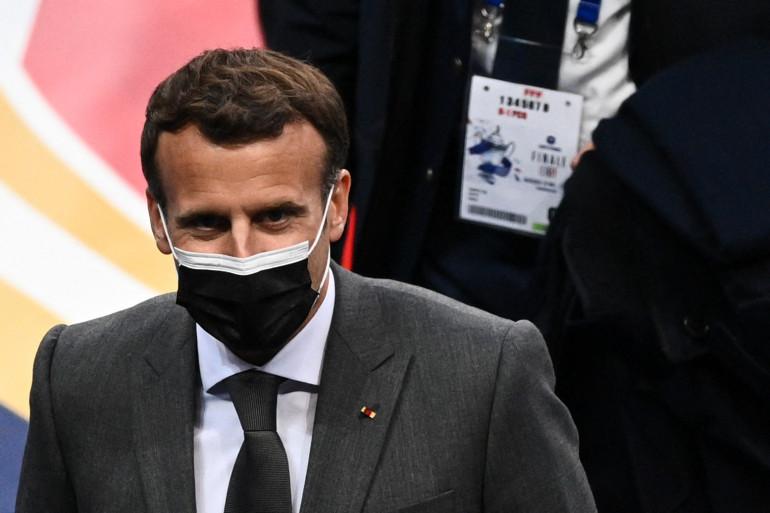 Emmanuel Macron, le 19 mai 2021