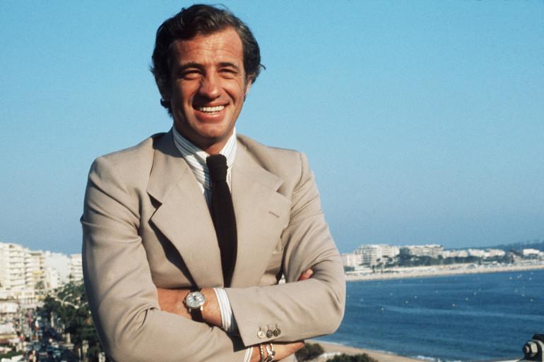 Jean-Paul Belmondo au Festival de Cannes en 1974