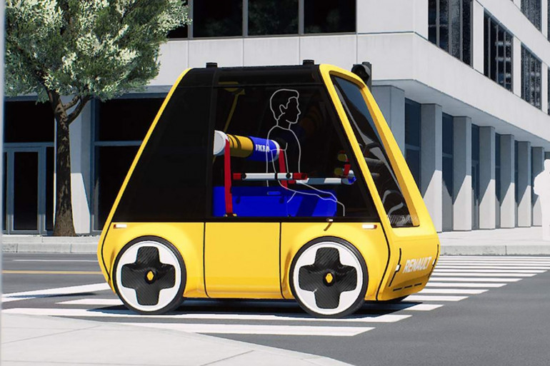 """Ikea et Renault planchent sur la """"Höga"""", une voiture électrique à monter soi-même"""
