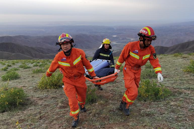 Des secouristes. Photo d'illustration.