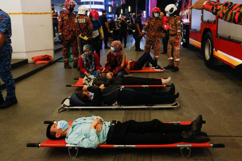 Plus de 200 passagers ont été blessés suite à la collision entre deux rames de métro dans un tunnel de la capitale malaisienne lundi 24 mai.
